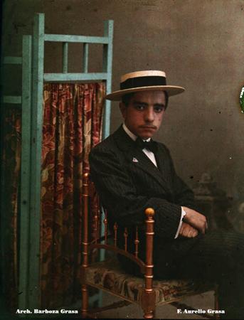 27_Aurelio Grasa, 1912, autocroma