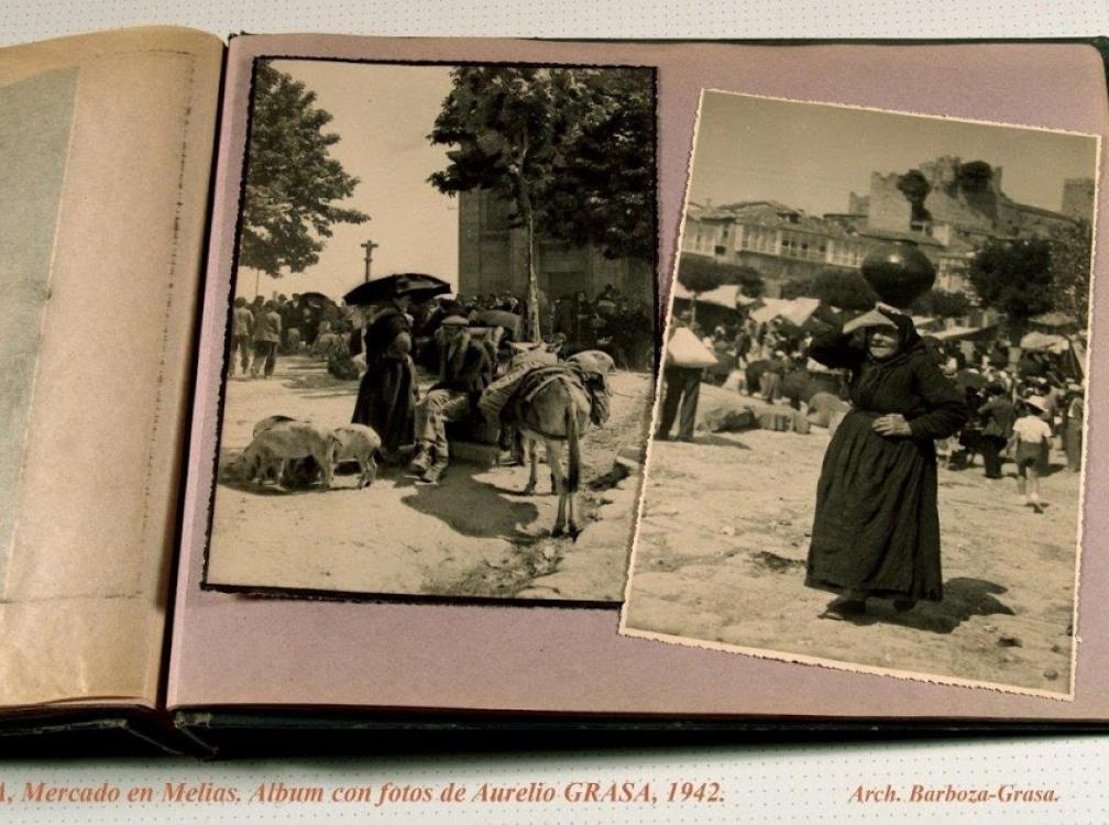 AURELIO GRASA Y SU ÁLBUM DE FOTOGRAFÍAS DE GALICIA EN 1942