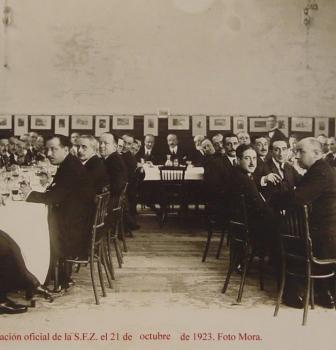 II  – LA SOCIEDAD FOTOGRÁFICA DE ZARAGOZA – RSFZ   SE CONSOLIDA  EN 1923