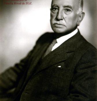 """III – FRANCISCO RIVED,  PRESIDENTE HONORARIO DE LA SOCIEDAD FOTOGRÁFICA DE ZARAGOZA-RSFZ Y SU CURSO """"HELIOS""""  1923"""