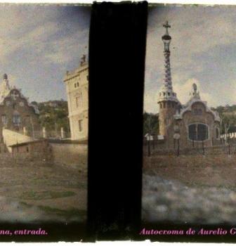 EL PARQUE GÜELL DE ANTONI GAUDÍ EN LAS AUTOCROMAS DE AURELIO GRASA, 1914 – RSFZ 90
