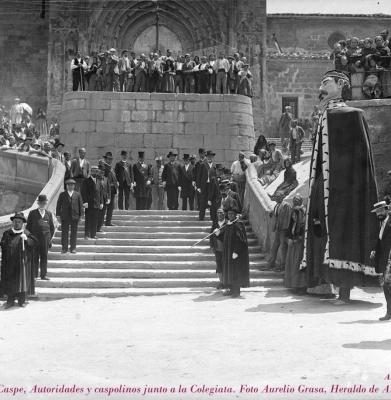 AURELIO GRASA Y MODESTINO EN EL COMPROMISO DE CASPE 1912.