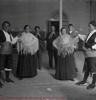 TAUSTE Y ESTELLA EN LAS FIESTAS DEL PILAR DE ZARAGOZA 1887-2012
