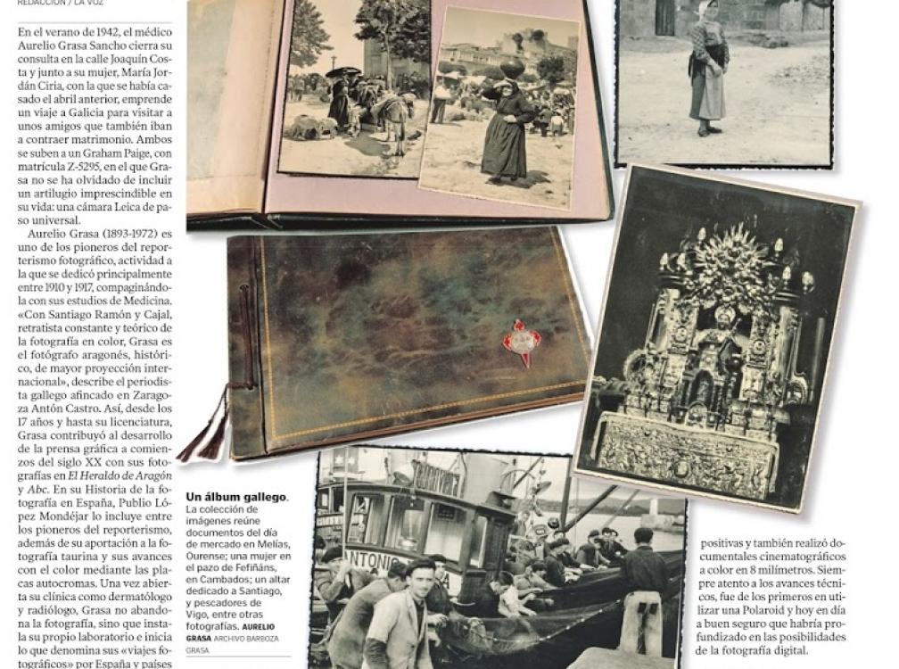 Un paseo fotográfico inédito por la Galicia de 1942. Xesús Fraga para La Voz de Galicia